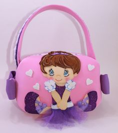 Ballerina Little Girl Purse by SweetBellaLuna on Etsy, $15.00