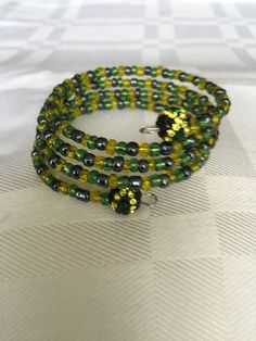 Jamaican colors wrap bracelet $15.00