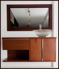 Acabados & Formas Double Vanity, Bathroom Lighting, Mirror, Furniture, Home Decor, Bathroom Furniture, Shapes, Architecture, Home