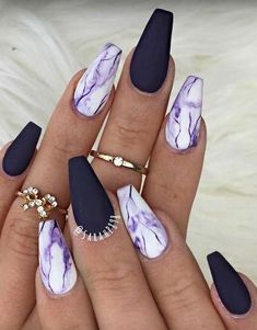 Nail designs or nail art is certainly a uncompli… Geometric Nail Design Tutorial. Nail designs or nail art is certainly a uncompli…,Nail art Geometric Nail Design Tutorial. Nail designs or. Nail Art Yellow, Nail Art Violet, Nail Art Pastel, Colorful Nail, Cute Nail Art, Cute Acrylic Nails, Art Nails, Nail Art Designs, Marble Nail Designs