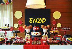 Está organizando uma festa do Mickey? Não deixe de conferir 35 ideias de decoração, doces, comidinhas, bolos e lembrancinhas!