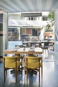 KELLY WEARSTLER | INTERIORS. Viviane Restaurant at the Avalon Hotel Beverly Hills