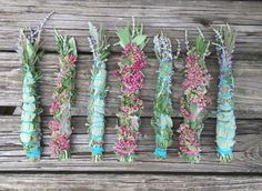 8 or 11 Smudge Wand. Custom Intuitive or Popular by TheSageCottage Jar Spells, Sacred Plant, Smudge Sticks, Healing Herbs, Paganism, Diy Candles, Flower Making, Snakes, Wicca