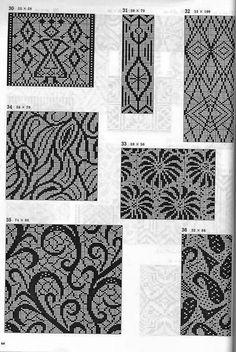 cross stitch / loom bead pattern