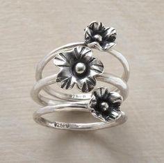 Flowergarten Ring Trio.  Sundance.