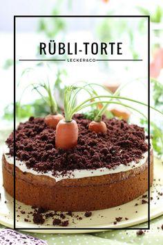 Rübli-Torte mit Frischkäsetopping