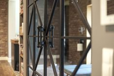 Woodlight  steel door photo by Patrycja Guz