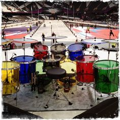 Go to http://newmusic.mynewsportal.net to learn about the latest music releases - Zak Starkey's Drum Kit London 2012