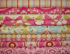 Kumari Garden by Dena Designs Tanaya in Pink Jeevan in Pink Sacha in Pink Sachi in Pink Sujata in Pink Lalit in Pink Chandra in Red Marala in Pink