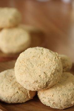 +콩고물단호박찹쌀쿠키 / 노버터,노에그,글루텐프리 : 네이버 블로그 Cookies, Desserts, Food, Crack Crackers, Tailgate Desserts, Biscuits, Meal, Cookie Recipes, Dessert