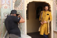 A grand new collection for the modern day maharajah and maharani. Coming soon. #CelebrationWear