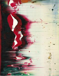 Gerhard Richter. Fuji. 1996  36.8 cm x 29 cm. Oil on Alu Dibond  Catalogue Raisonné: 839-93