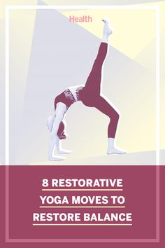 This easy yoga flow is designed to help you stay balanced and keep your body aligned from everyday stressors. #yoga #yogaflow #balance #relaxation