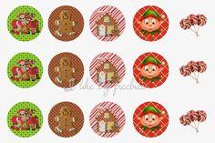 I like big freebies: Christmas Bottlecap image sheets FREE