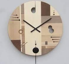 Resultado de imagen para reloj madera