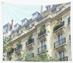 Buy 'French balconies in Paris, France' by Robert Elfferich as a Graphic T-Shirt, Women's Chiffon Top, Graphic T-Shirt Dress, A-Line Dress, Sticker, iPhone Case/Skin, iPhone Wallet, Case/Skin for Samsung Galaxy, Poster, Throw Pillow, Floor...