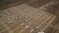 The World's Most Bizarre Aircraft Graveyards
