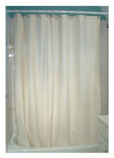 Hemp Shower Curtain Liner Cloth Shower Liner