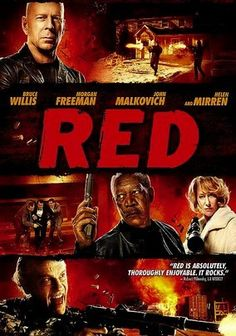 Red (2010) After trading in his professional past as a black-ops CIA operative for a new identity, Frank Moses (Bruce Willis) is basking in normality. But he's forced to return to old habits when an assassin puts a target on his back and goes after the woman (Mary-Louise Parker) he loves. Helen Mirren and John Malkovich co-star as former members of Frank's team who reluctantly reassemble to save his life in this Golden Globe-nominated action-comedy.