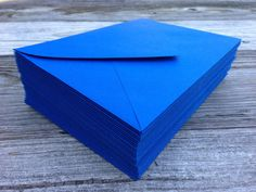 50 A7 5x7 or 4 Bar Royal Blue Envelopes Paper by SEEDInvites