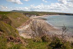 Aberdaron beach on the Lleyn Peninsula, Gwynedd, Wales