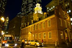 Christmas of the Old State House in Boston