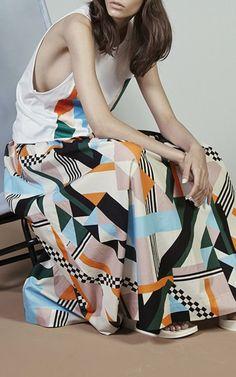 #Fashion #inspiration for the late holiday makers: MSGM Resort 2015 Trunkshow via Moda Operandi, via #Blogbloeme I Stylingsinja