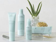 Aveda Smooth Infusion: Say bye bye to frizzy hair with aloe, guar, and maize locking in moisturize and smoothing unruly fuzziness. Ideal for frizzy heads and curly girls who like to wear it straight.