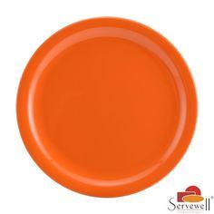 Servewell Side Plates: Buy Servewell Round Side Plate 19cm Set Of 6 Pcs - Orange Online | Oyekitchen.com