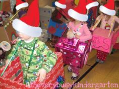 polar express themed school activities - This would be awesome for pajama day to go to each class in and sit in to watch the movie that afternoon - if they wouldn't destroy it. What do yall think? Christmas Activities For Kids, Preschool Christmas, Christmas Themes, Christmas Fun, Holiday Fun, Holiday Lights, Holiday Ideas, Polar Express Theme, Polar Express Train