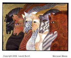 Morrocan Mares - Laurel Burch