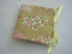 Sewing Needle Case - Floral Elephants £5.00