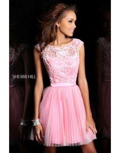 Sheri Hill 21167 Homecoming Dresses Pink