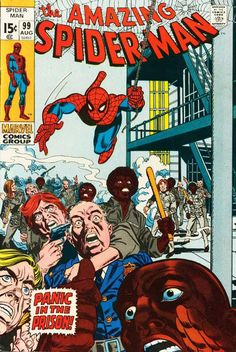 Cover for The Amazing Spider-Man (Marvel, 1963 series) #99
