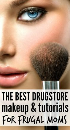 Love makeup but cant justify the expense of high-end beauty products? Neither can I! And thats why I love this collection of drugstore makeup tutorials for frugal moms. They are packed with tips on the best drugstore makeup finds, new and exciting products you should try, products you should avoid, and how to APPLY drugstore makeup like a pro! Makeup tutorials you can find here: http://crazymakeupideas.com/tips-for-summer-makeup/