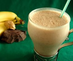 Chocolate-Peanut Butter Smoothie Recipe - Food.com #weightlossmotivationbeforeandafter