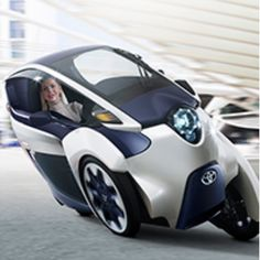 Toyota i-ROAD: transportation from the near future - Life in the Fishbowl