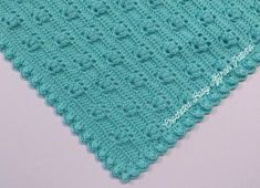 Spring Bouquet Baby Afghan pattern by the Jewell's Handmades Baby Afghan Crochet Patterns, Crochet Baby Blanket Beginner, Crochet Afghans, Crochet Blankets, Tunisian Crochet, Crochet Shawl, Baby Knitting, Pdf Patterns, Baby Patterns