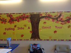 fall bulletin board ideas for preschool | Fall bulletin board