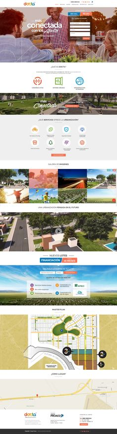 Diseño de Landing para empresa desarrollista - venta de lotes