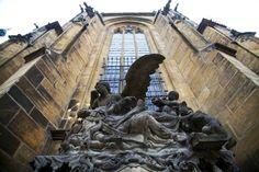 Details, details...Angel at St. Vitus Cathedral, Prague, Czech Republic, photo by Kyle Dickson via Flickr.