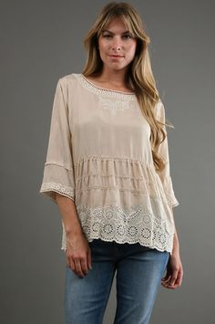 Johnny Was - Baby Doll Top Price: $200.00