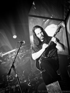 "Dream Theater - 2012 Pordenone.  In the picture ""John Petrucci tapping"""