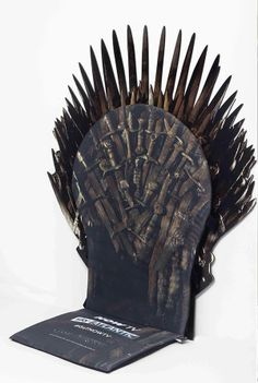 c46378563 Throne of Swords Seat Cover - Make every chair the Iron Throne Iron Throne  Chair