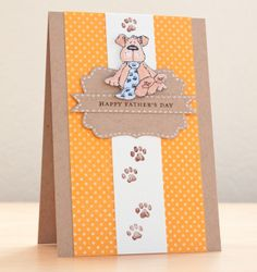 Penny Black Father's Day Card