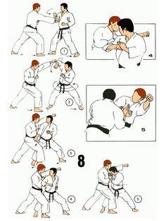 Karate Kata, Martial Arts, Pasta, Comics, Parkour Workout, Self Defense, Combat Sport, Cartoons, Comic