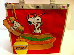 Snoopy tote bag
