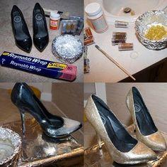 reciclando zapatos