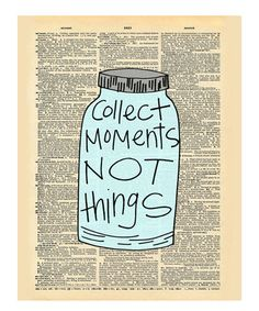 Look at this #zulilyfind! 'Collect Moments' Dictionary Print #zulilyfinds