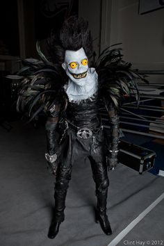 Ryuk Cosplay Cos And Effect 2012 By Clint Hay